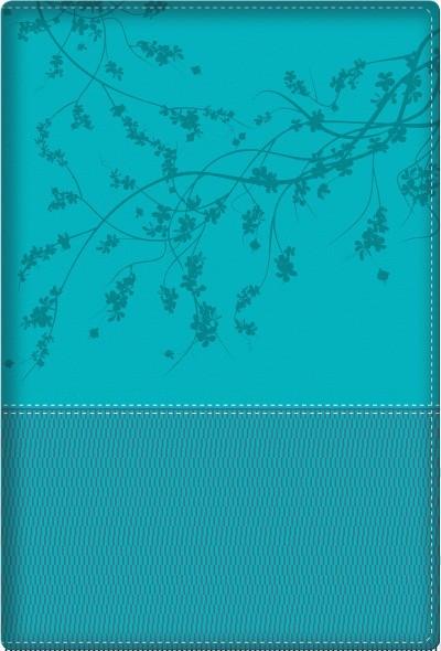 Biblia de la mujer conforme al corazón de Dios RVR60 - Aqua