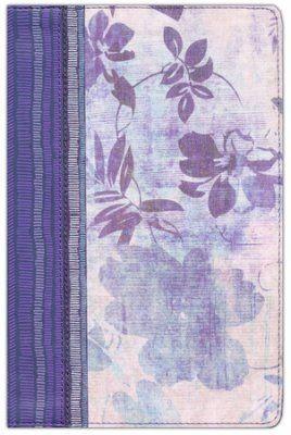 RVR 1960 Biblia de Estudio para Mujeres, azul floreado tela impresa