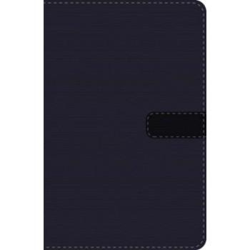 Biblia Ultrafina Compacta De las Américas, Piel italiana Azul Marino, Cierre