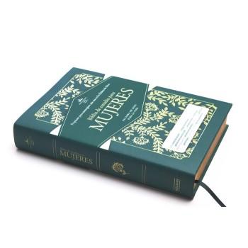 Biblia de estudio para mujeres RVR60 tela verde