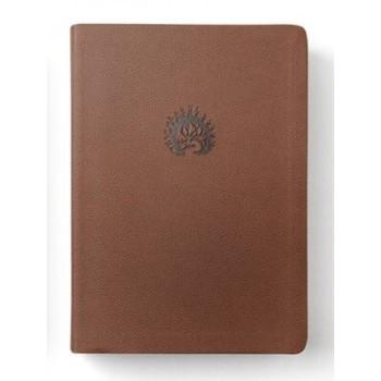 La Biblia de Estudio de La Reforma LBLA, I/piel café con estuche