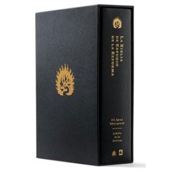 La Biblia de Estudio de La Reforma LBLA,piel genuina con estuche