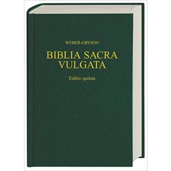 BIBLIA VULGATA -LATÍN-