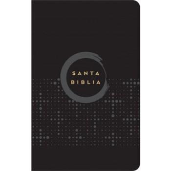Biblia NVI Tamaño manual ultrafina piel italiana negra