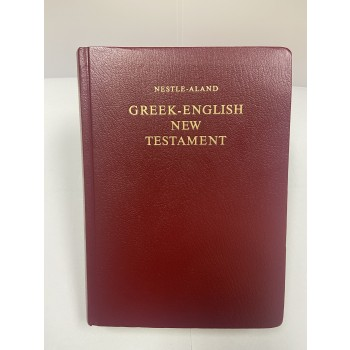 Greek- English New Testament