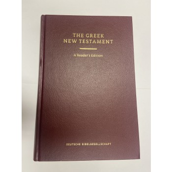 The Greek New Testament. A Reader´s edition.