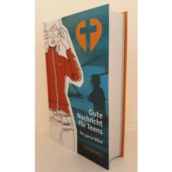 Biblia BUENAS NOTICIAS en alemán para adolescentes.