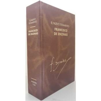 Nuevo Testamento Francisco de Enzinas. Amberes. 1543.