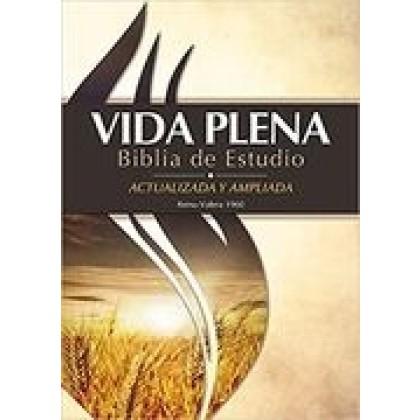 Biblia de Estudio RVR 1960 Vida Plena, Tapa Dura (Actualizada y ampliada)