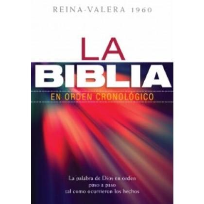 La Biblia en orden cronológico RVR60 - tapa dura