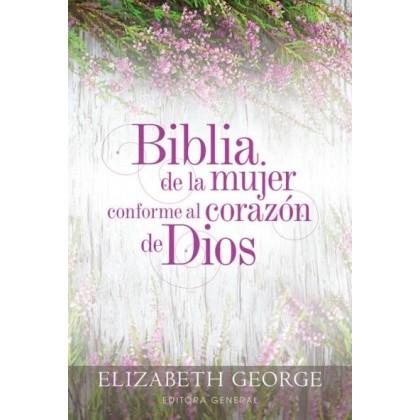 Biblia de la mujer conforme al corazón de Dios RVR60 - Tapa Dura