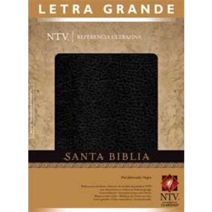 Santa Biblia NTV, Edición de referencia ultrafina, letra grande: Holy Bible NTV, Slimline Reference Edition, Large Print