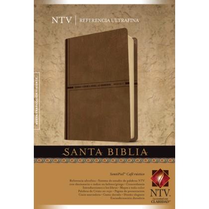 Santa Biblia NTV, Edición de referencia ultrafina: Holy Bible NTV, Slimline Reference Edition
