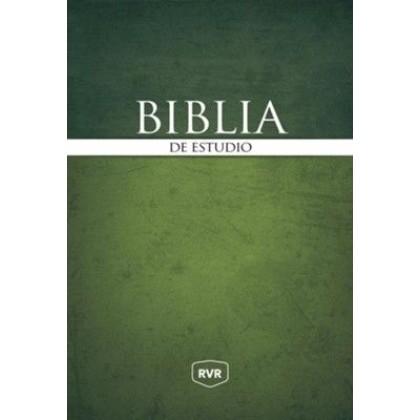 Biblia de Estudio RVR 1977 Tapa Dura