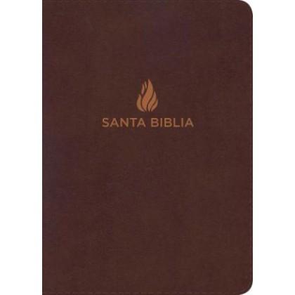 RVR 1960 Biblia Letra Gigante marrón, piel fabricada