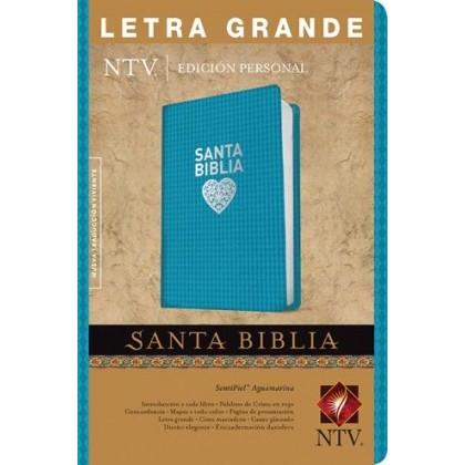 Santa Biblia NTV, Edición personal, letra grande: Holy Bible NTV, Personal Size Edition, Large Print