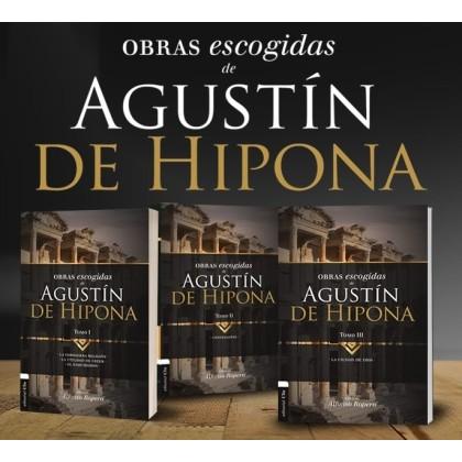 PACK - OBRAS ESCOGIDAS DE AGUSTÍN DE HIPONA- .